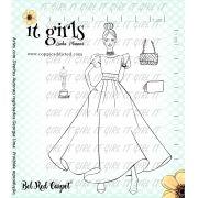 Carimbo It Girl Linha Planner - Bel Red Carpet