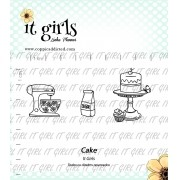 Carimbo It Girl Linha Planner - Cake