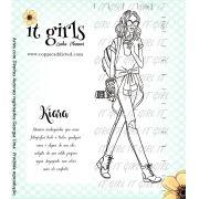 Carimbo It Girl Linha Planner - Kiara
