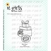Carimbo It Girl Linha Planner - Mini Flora