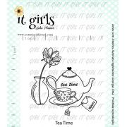 Carimbo It Girl Linha Planner - Tea Time