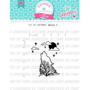Carimbo Magia 3 - Scrapbook by Tamy