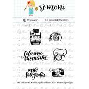 Kit de Carimbo - Câmeras Retrô