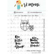 Kit de Carimbo - Dia das Mães Remoni