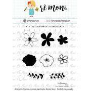 Kit de Carimbos - Florescer 1 - Remoni