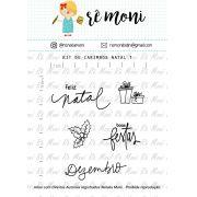 Kit de Carimbo - Natal 1 (Remoni)