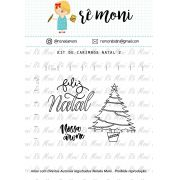 Kit de Carimbo - Natal 2 (Remoni)