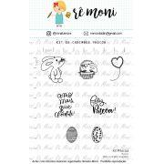 Kit de Carimbos - Páscoa  - Remoni