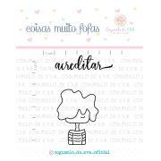 Kit de Carimbos - Acredite - Cogumelo de E.V.A.