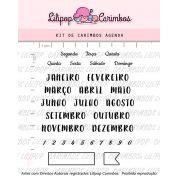 Kit de Carimbos - Agenda