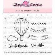 Kit de Carimbos - Balão (LILIPOP CARIMBOS)
