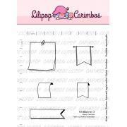 Kit  de Carimbos - Banner 3  LILIPOP CARIMBOS