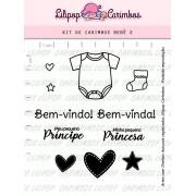Kit de Carimbos - Bebê 2  (LILIPOP CARIMBOS)
