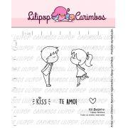 Kit  de Carimbos - Beijinho  LILIPOP CARIMBOS