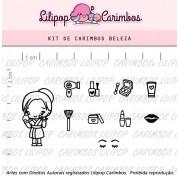 Kit  de Carimbos - Beleza