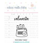Kit de Carimbos - Calmaria  - Cogumelo de E.V.A.