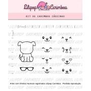 Kit de Carimbos - Cãozinho