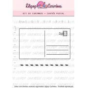 Kit  de Carimbos - Cartão Postal