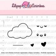 Kit de Carimbos Chuva de Amor - Lilipop Carimbos