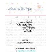 Kit de Carimbos - Coisas Muito Fofas  - Cogumelo de E.V.A.