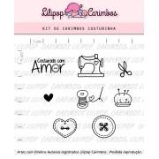 Kit de Carimbos - Costurinhas (LILIPOP CARIMBOS)