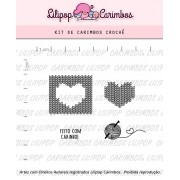 Kit de Carimbos - Crochê (LILIPOP CARIMBOS)