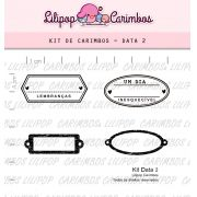 Kit  de Carimbos - Data 2