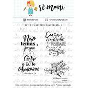 Kit de Carimbos -Devocional 4 - Remoni