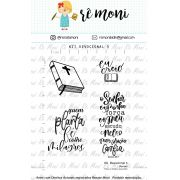 Kit de Carimbos - Devocional 5 - Remoni