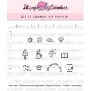 Kit de Carimbos - Dia Perfeito
