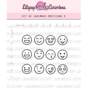 Kit de Carimbos - Emoticons 2