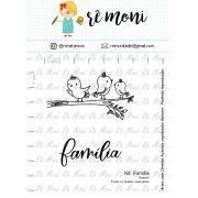 Kit de Carimbos - Família  by  Remoni