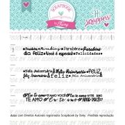 Kit de Carimbos - Felicidade 2