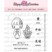 Kit de Carimbos - Feliz Ano Novo Japonês