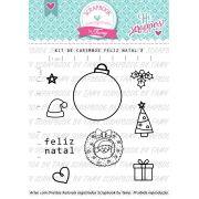 Kit de Carimbos - Feliz Natal 2