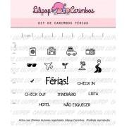 Kit de Carimbos - Férias (LILIPOP CARIMBOS)