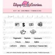 Kit de Carimbos - Financeiro (LILIPOP CARIMBOS)