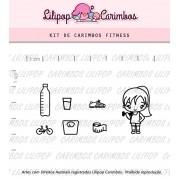 Kit de Carimbos - Fitness (LILIPOP CARIMBOS)