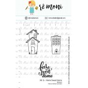 Kit de Carimbos G - Home Sweet Home (Remoni)