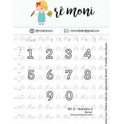 Kit de Carimbos G - Números - Remoni