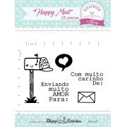 Kit de Carimbos - Happy Mail