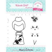 Kit de Carimbos - Kokeshi Doll