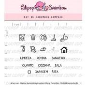 Kit de Carimbos - Limpeza (LILIPOP CARIMBOS)