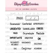 Kit de Carimbos - Lojista