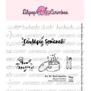Kit de Carimbos M - Bom Apetite - Lilipop Carimbos