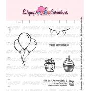 Kit de Carimbos M -  Aniversário 2