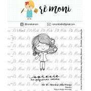 Kit de Carimbos M - Menina Little Things - Remoni