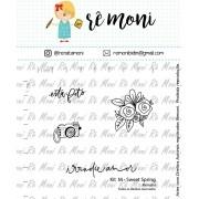 Kit de Carimbos M - Sweet Spring - Remoni