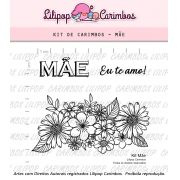 Kit  de Carimbos - Mães (LILIPOP CARIMBOS)