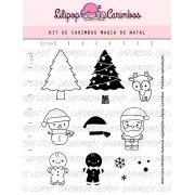 Kit de Carimbos - Magia de Natal